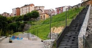 Inbisa finaliza la fase I del parque de la Benedicta en Portugalete