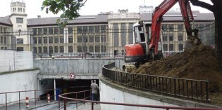 Arranca la renovación del parking del Instituto Central de Bilbao