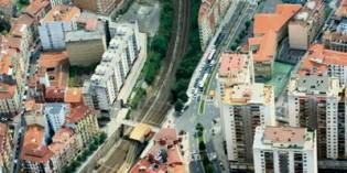 Bilbao Ría 2000 adjudica el soterramiento del tren en Irala y Rekalde por 22 millones