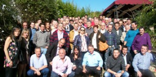 La Asociación Maestros Pintores de Vizcaya celebra San Juan Lucas Evangelista