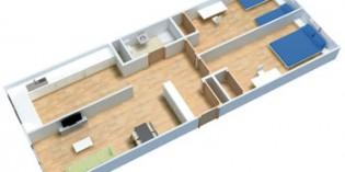 ContenHouse presenta su prototipo de  vivienda hecha con contenedores marítimos
