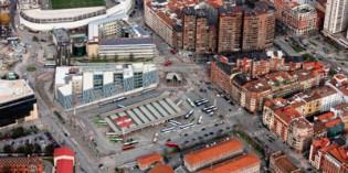 Bilbao da luz verde a la licitación del  soterramiento de la estación de Termibus