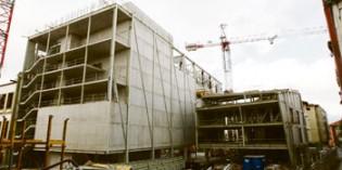 El Getxo Antzokia enfila la recta final con la construcción de su cubierta