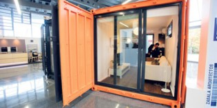 Aurtenetxea comercializa viviendas fabricadas a partir de contenedores