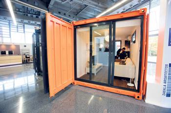 Aurtenetxea comercializa viviendas fabricadas a partir de contenedores construcci n euskadi - Contenedores vivienda ...