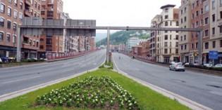 Adjudicada la demolición del viaducto de Sabino Arana por 2,8 millones