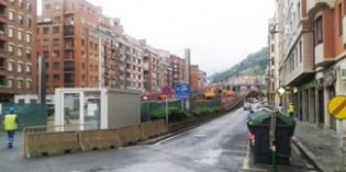 La Diputación de Bizkaia inició en julio las labores de derribo de los viaductos de Sabino Arana