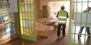 Arrancan las obras en el  sótano y planta baja del colegio Ramón Bajo