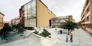 La fachada del Getxo Antzokia  estará finalizada antes de 2015