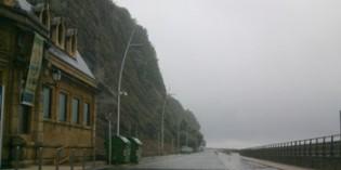 Donostia comenzará en  febrero la estabilización de la ladera de Urgull
