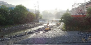 URA comienza la segunda fase del  encauzamiento del río Nervión-Ibaizabal