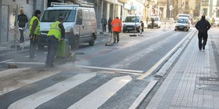 Ordizia inicia las obras de semipeatonalización de la calle Urdaneta