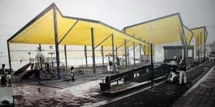 Elgoibar elige proyecto para cubrir el parque de Maala