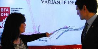 La Diputación de Bizkaia licita las obras de la Variante de Ermua por 89,35 millones de euros