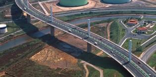 Bizkaia comienza los trabajos de inspección del Viaducto de La Arena