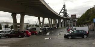 El Ayuntamiento de Sestao acomete mejoras en el aparcamiento del vial de La Benedicta