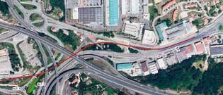 Un nuevo bidegorri conectará Lasarte con Donostia en abril de 2015