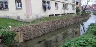 URA finaliza las obras de estabilización del talud del Río Gobela en Salsidu, Getxo