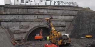 Comienza la excavación del túnel de Gaztelua II del tramo Gerediaga-Elorrio de la N-636