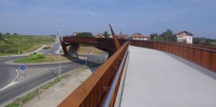 Sopelana abre una nueva pasarela peatonal sobre la BI-634