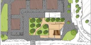 La plaza de Munto, en Aiete, tendrá un escenario, manzanos y bancos hacia el sur