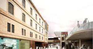 Tabakalera contará con una gran plaza de entrada en la fachada norte