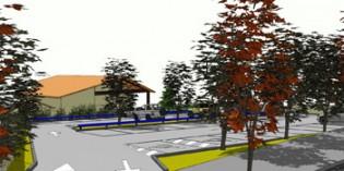 Empiezan los trabajos del aparcamiento de Ixer, en Amorebieta