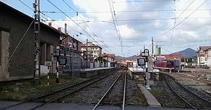 ETS adjudica la renovación de vía entre Zugastieta y Muxika por 2,9 millones