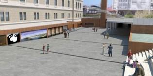 La plaza de Tabakalera estará acabada en julio