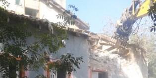 Donostia comienza el derribo del caserío Katalintxo