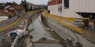 URA perfila el nuevo cauce del Río Gobela en Errekagane