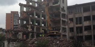 Finalizada la demolición de la antigua escuela de Ingenieros de La Casilla