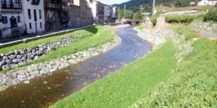 Las obras del río Arratia, en Areatza, terminarán en diciembre