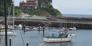 Iniciado la reparación del camino de acceso al dique de Mutriku