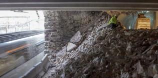 ETS termina el cale del túnel que une la estación de Herrera con la de Altza
