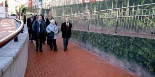 Bilbao realiza mejoras de accesibilidad en el barrio de Irala