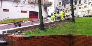 Santurtzi ultima las mejoras en el entorno de Larrea y grupo San Juan de Dios