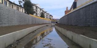 URA invierte 25 millones en el encauzamiento del río Gobela