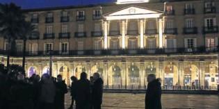 La Plaza Nueva de Bilbao estrena nueva iluminación