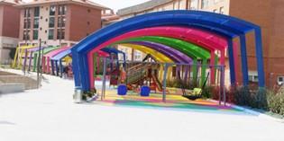 Getxo estrena el nuevo parque de Maidagan