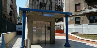 Bilbao ultima el ascensor que conectará Iturribide con Zabalbide