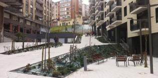 Santurtzi regenera la plaza de Koskojales