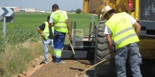 Arranca la construccion de la rotonda de Antzuola, en la salida hacia Urretxu