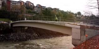 Basauri reabre el puente de Bridgestone tras siete meses