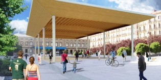 Donostia cubrirá 700m2 de la Plaza Easo
