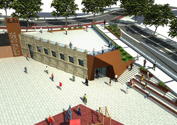 Plaza-Arroka