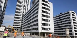 La construcción en Euskadi aumentó un 0,8% en el primer trimestre de 2015