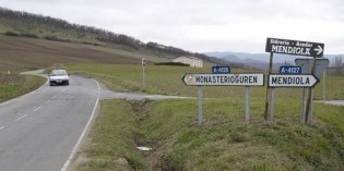 Álava renovará las conducciones en Mendiola y Monasterioguren