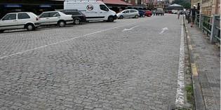 Adif reparará el suelo del parking de la estación de Abando