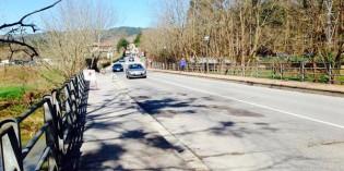 Galdakao habilitará el acceso peatonal por el puente de Laminarrieta